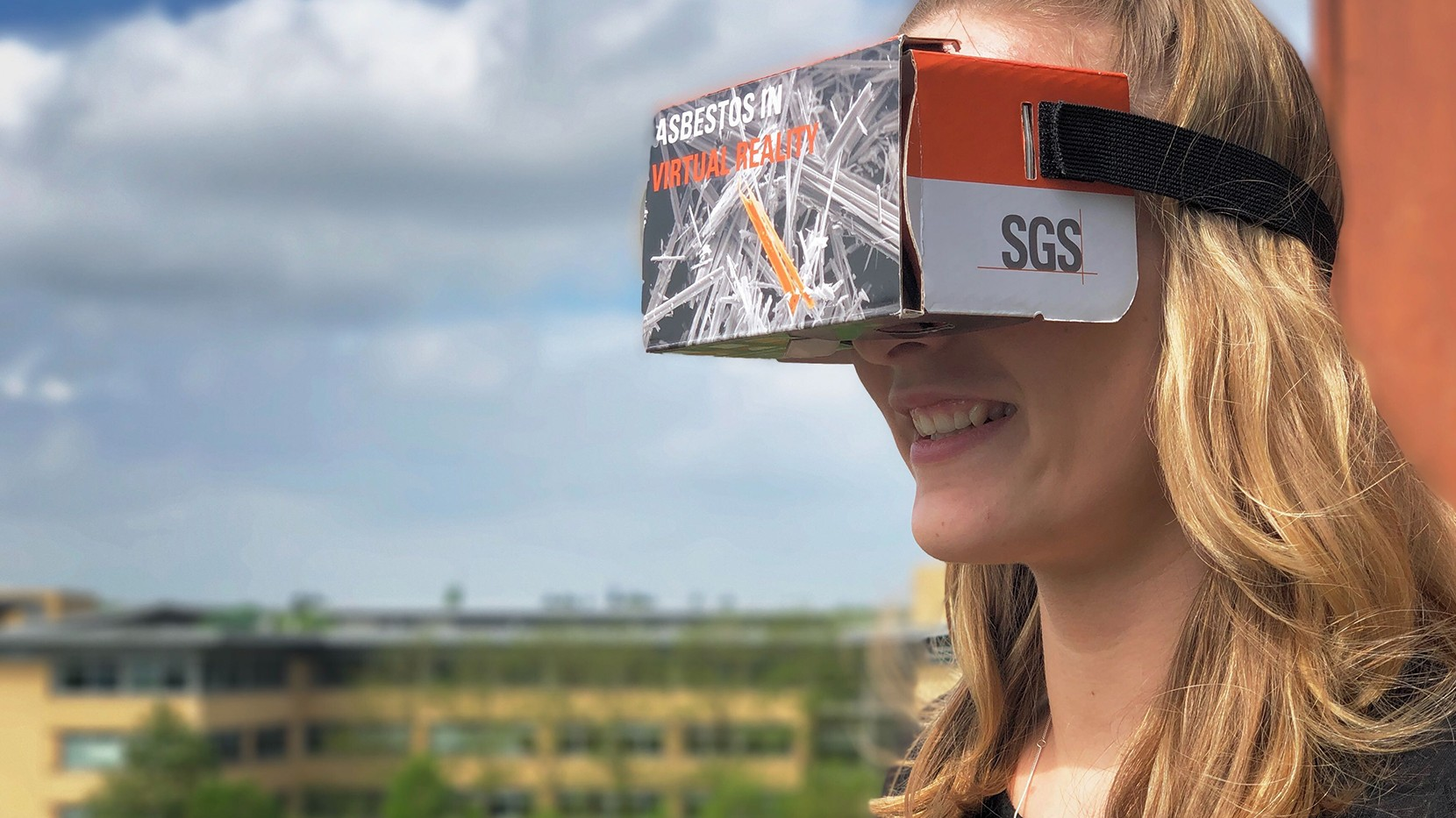 Recognising asbestos in virtual reality