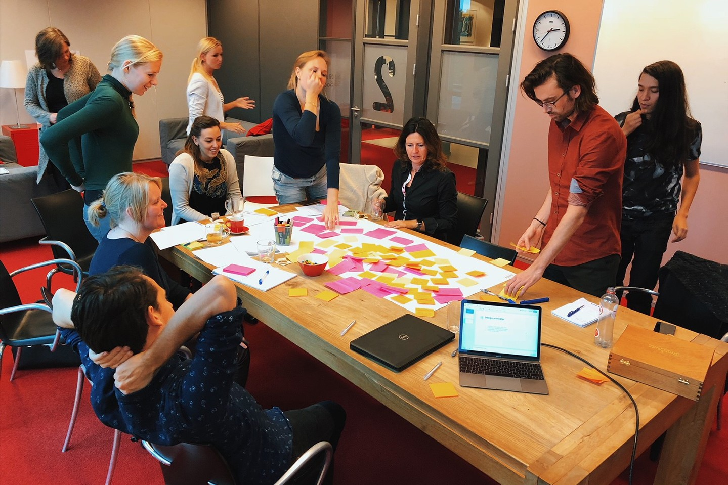 Op zoek naar design principles, app flows en user stories